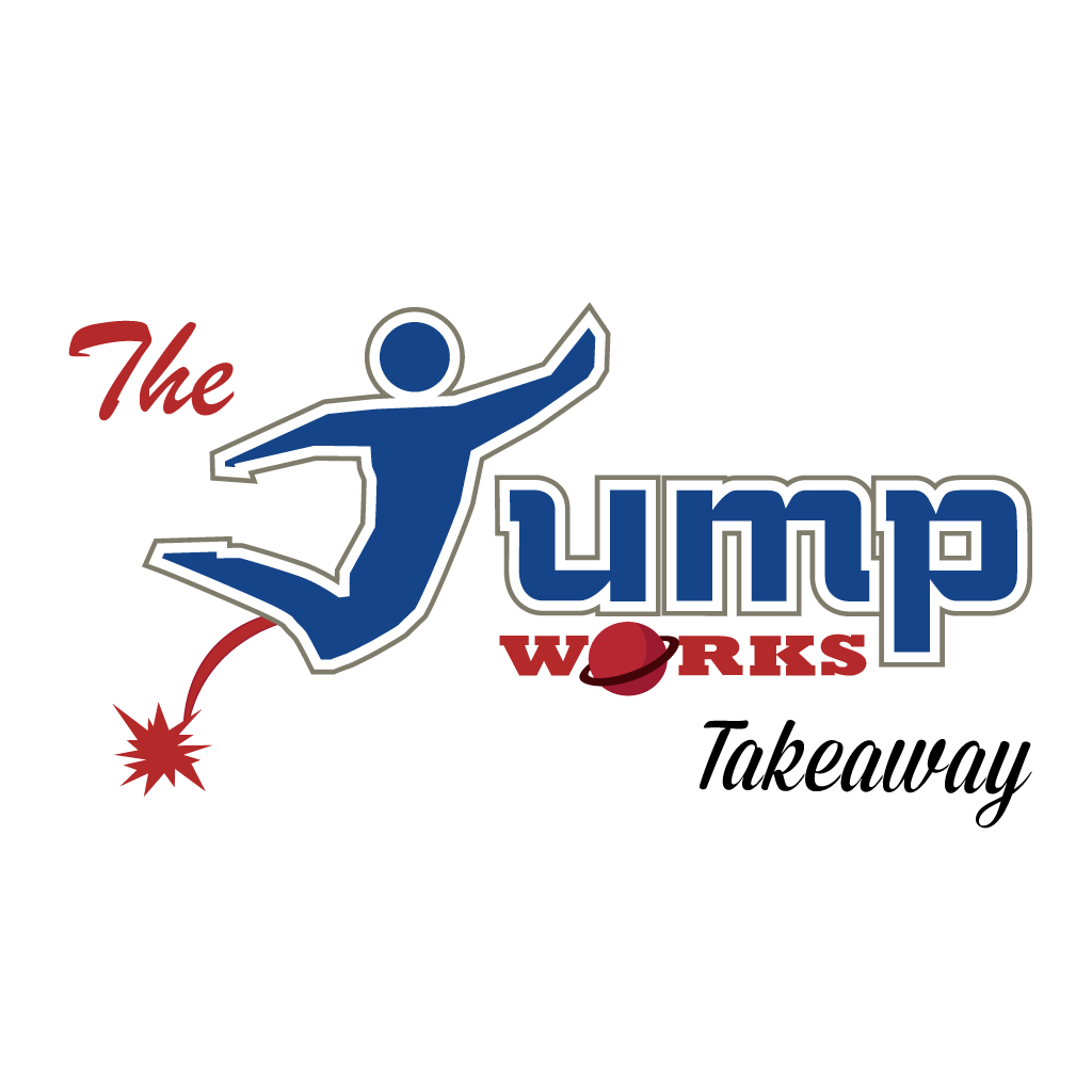 The Jump Works Takeaway Logo