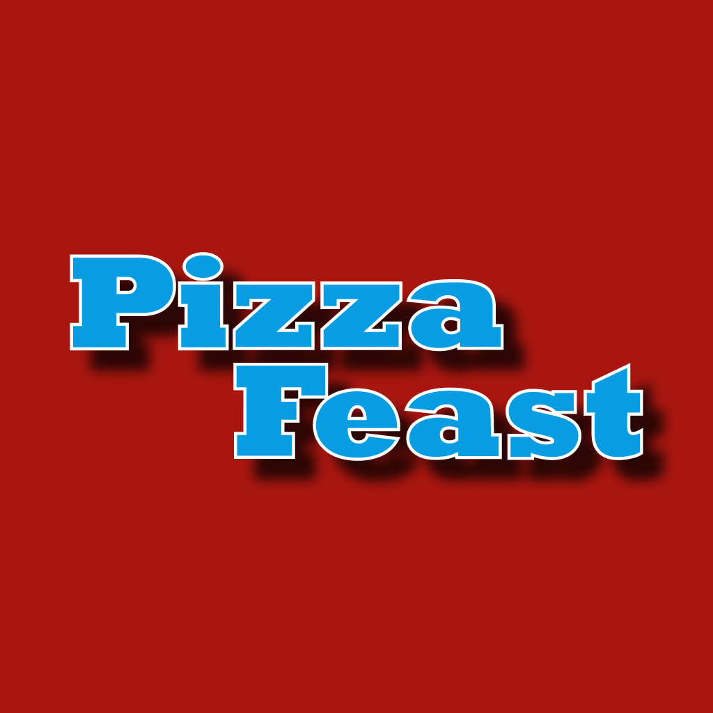 Pizza Feast Online Takeaway Menu Logo