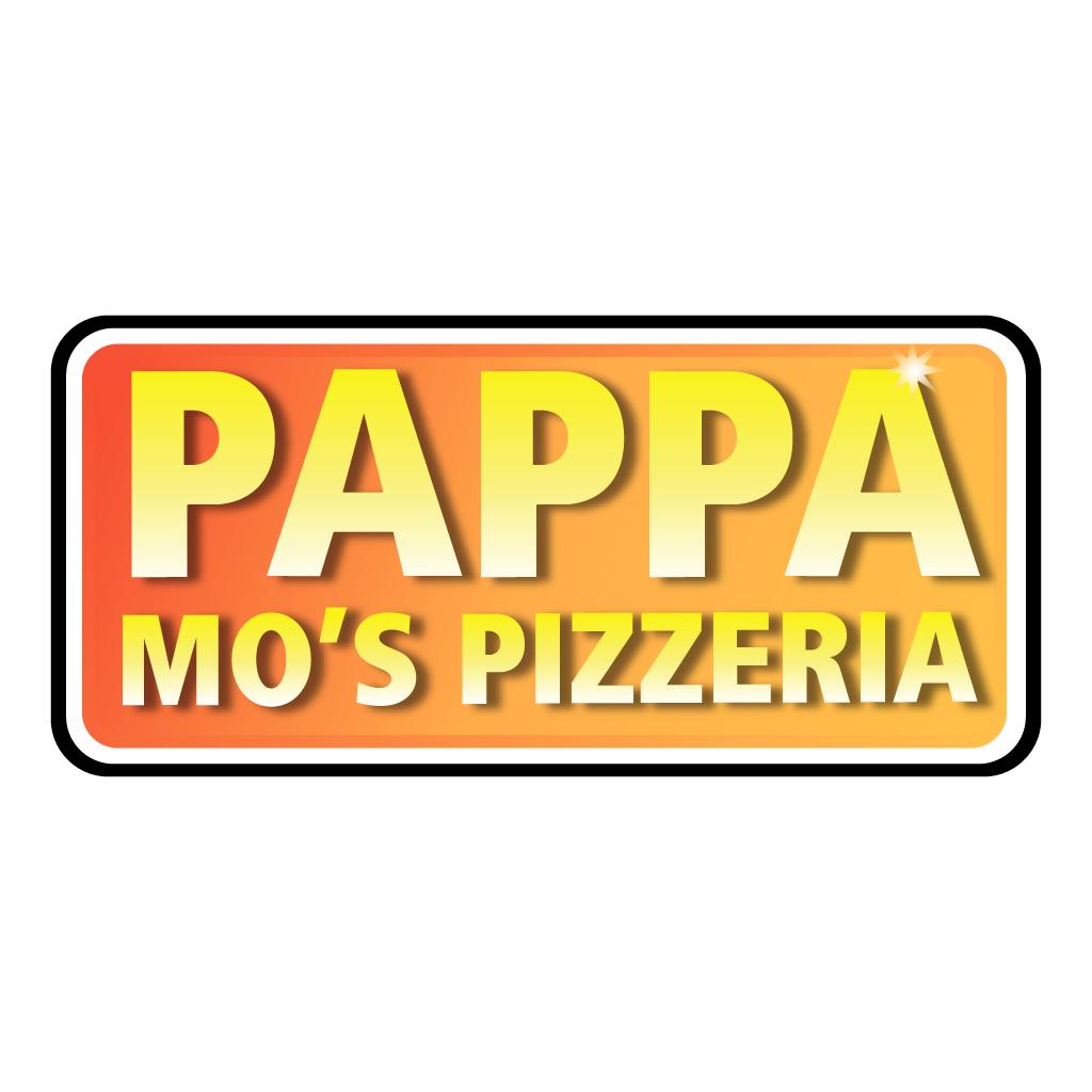 Pappa Mo's Pizzeria Online Takeaway Menu Logo
