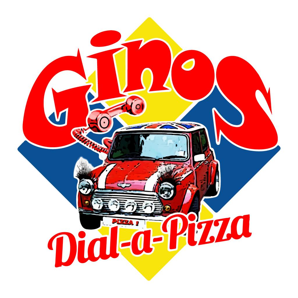 Ginos Dial A Pizza Online Takeaway Menu Logo