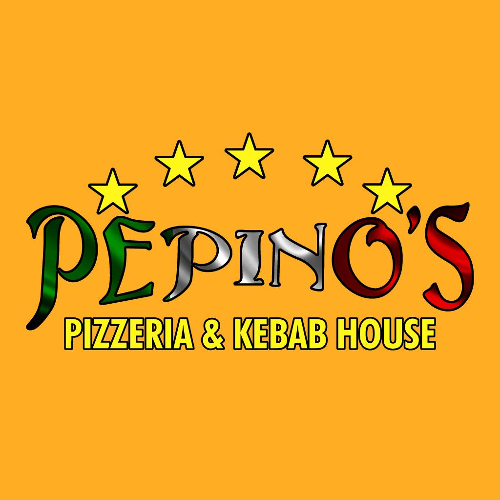 Pepinos Pizzeria Online Takeaway Menu Logo