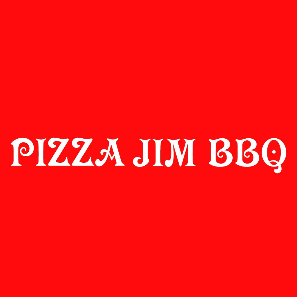 Pizza Jim BBQ Online Takeaway Menu Logo