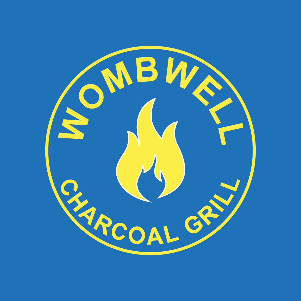Wombwell Charcoal Grill Online Takeaway Menu Logo