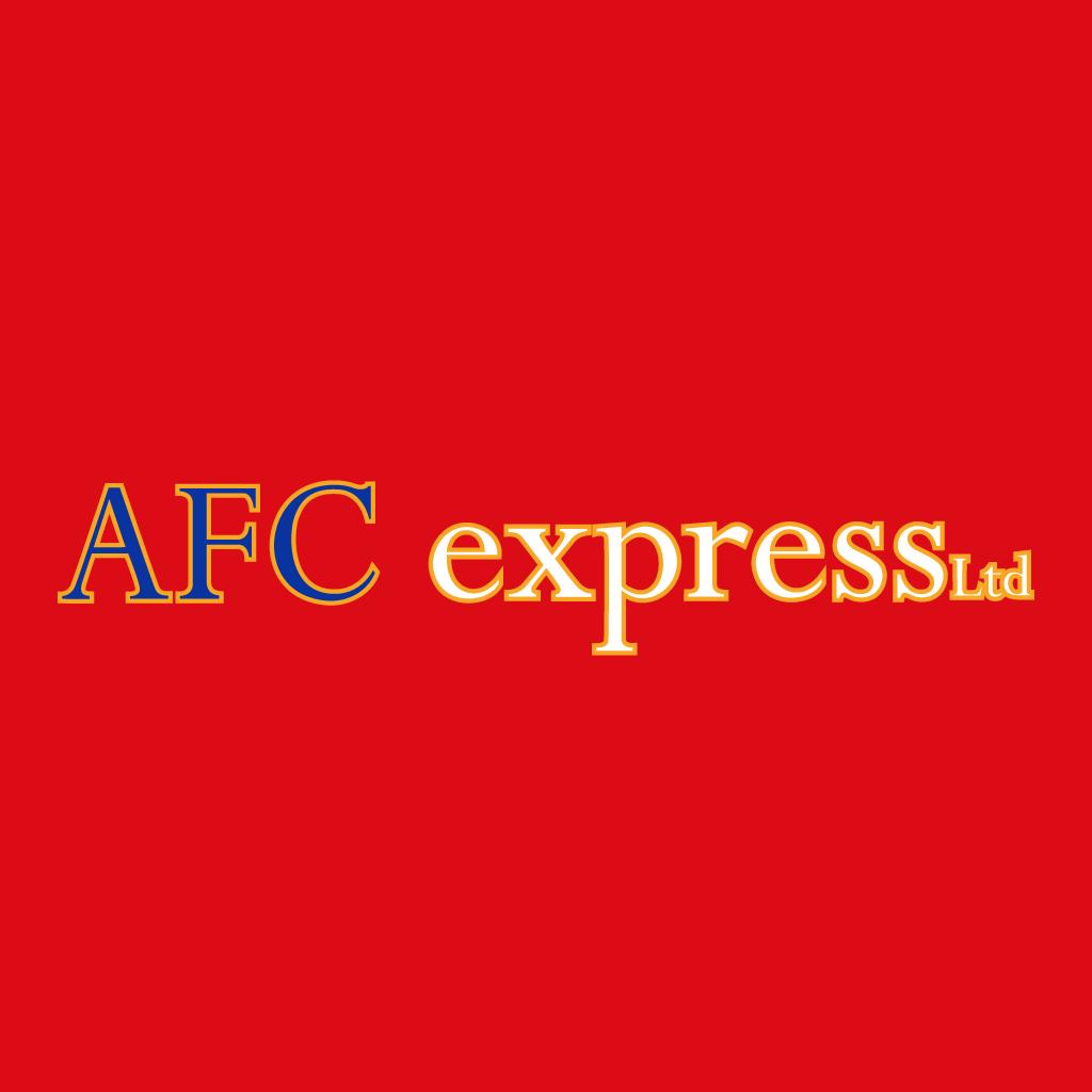 AFC Express Online Takeaway Menu Logo