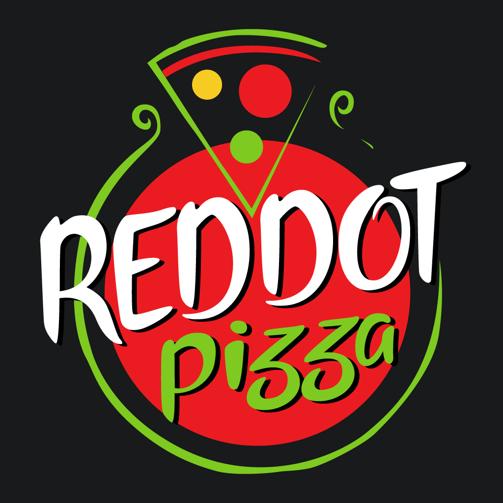 Red Dot Pizza Online Takeaway Menu Logo