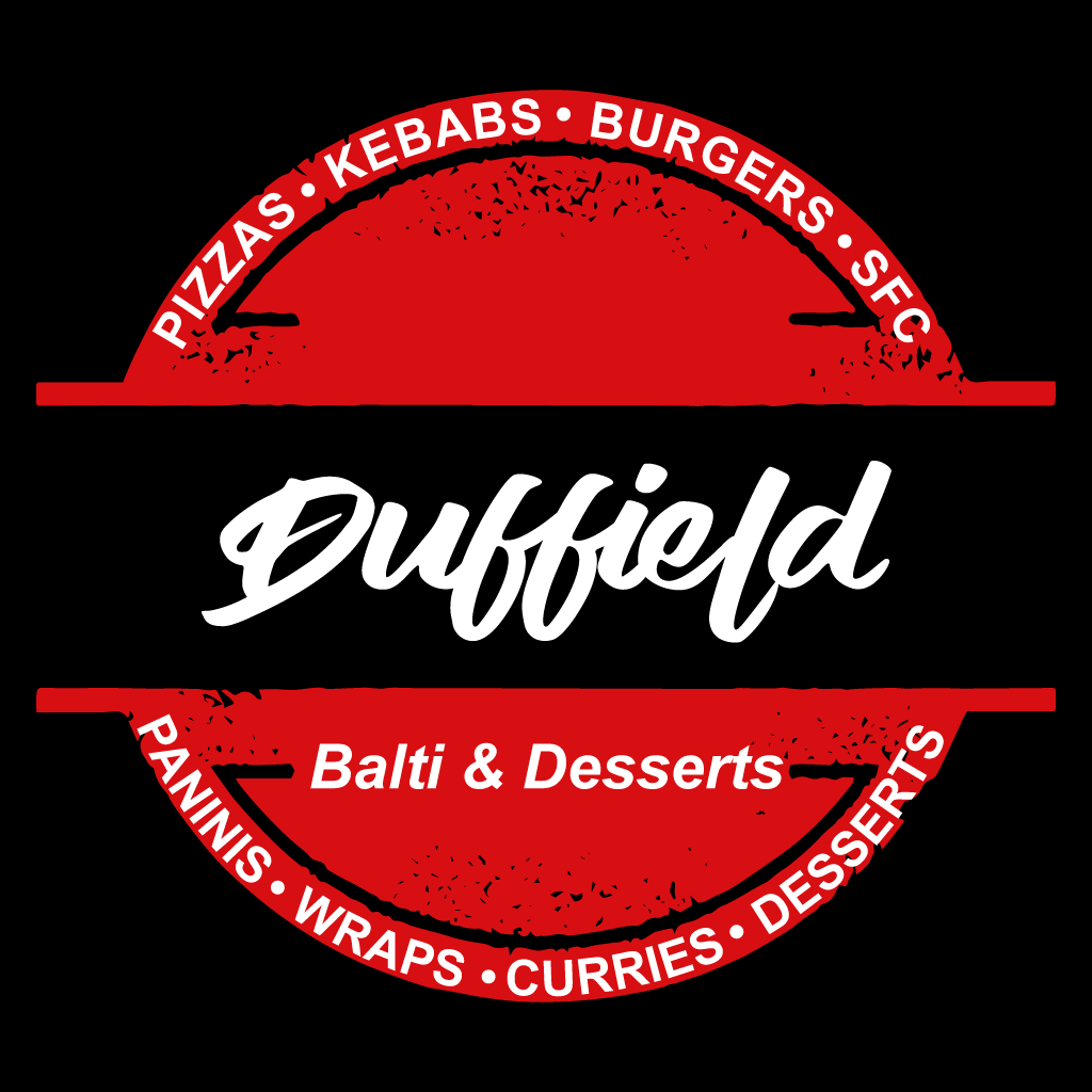 Duffield Balti & Deserts Online Takeaway Menu Logo