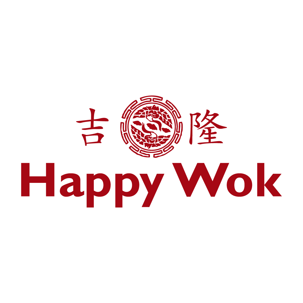 Happy Wok Online Takeaway Menu Logo