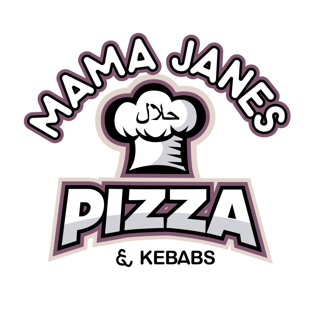 Mama Janes Pizza Online Takeaway Menu Logo