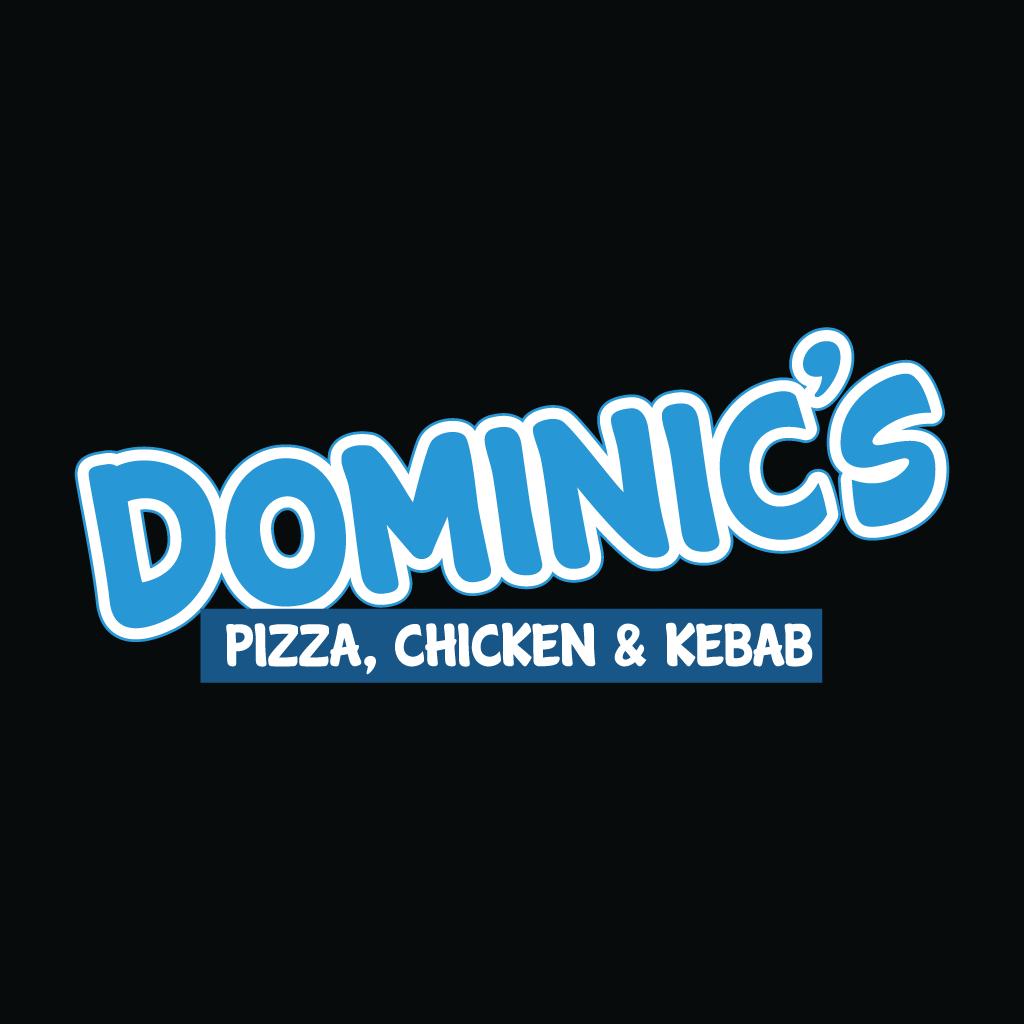 Dominics Online Takeaway Menu Logo