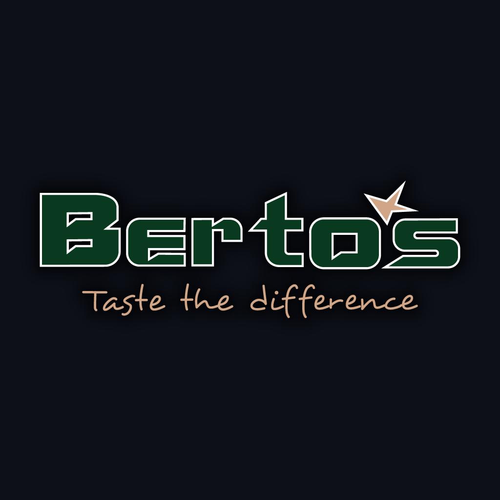 Bertos Online Takeaway Menu Logo
