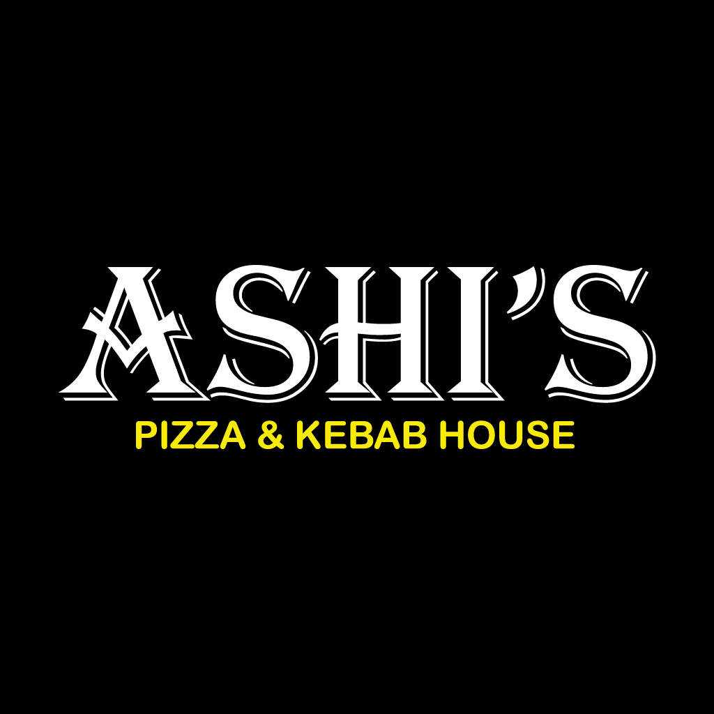Ashi's Pizza & Kebab House Online Takeaway Menu Logo