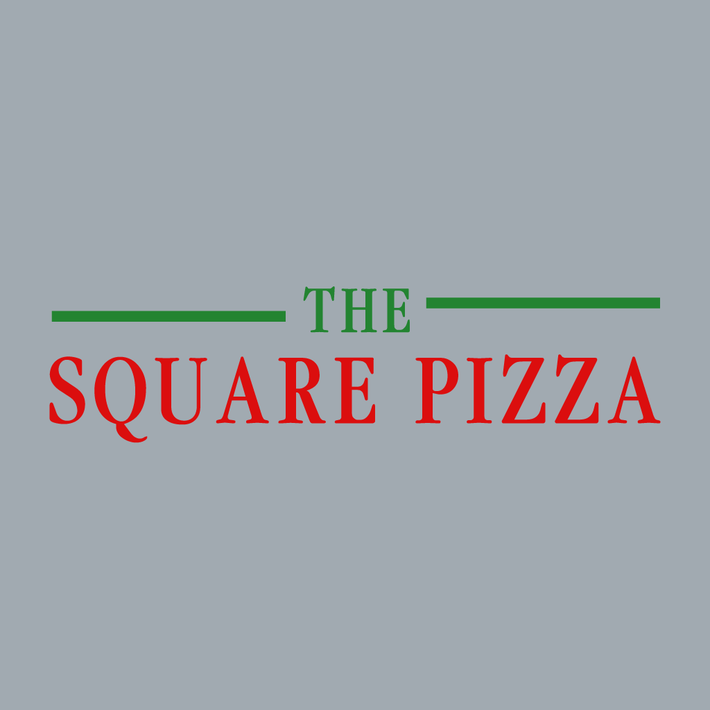 Square Pizza Online Takeaway Menu Logo