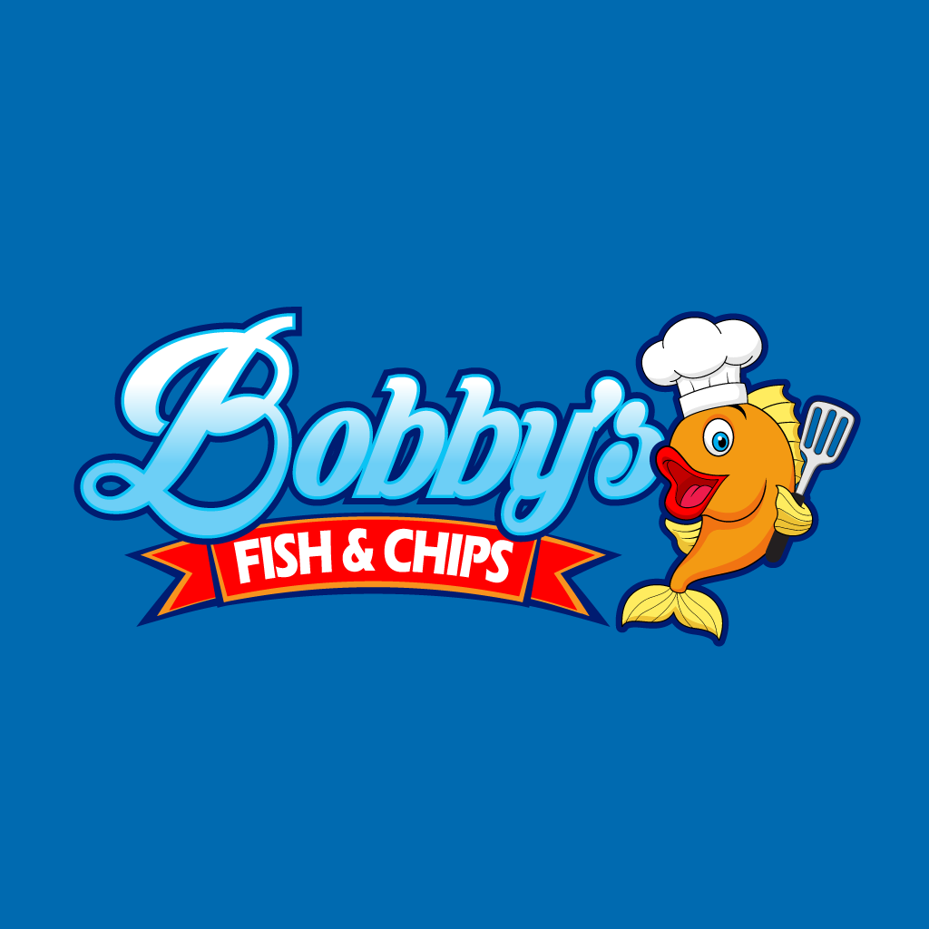 Bobbys Fish and Chips Online Takeaway Menu Logo