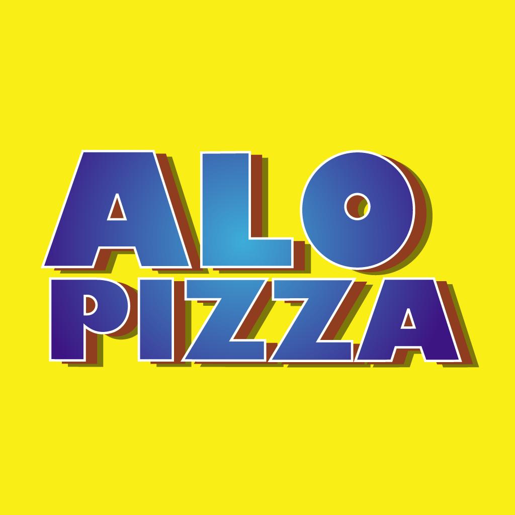Alo Pizza Online Takeaway Menu Logo