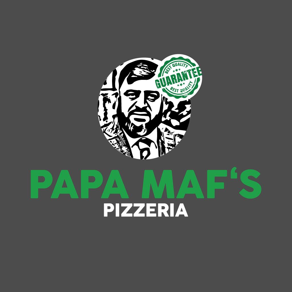 Papa Maf's Hartlepool Online Takeaway Menu Logo