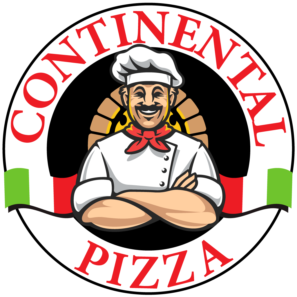 Continental Pizza Online Takeaway Menu Logo
