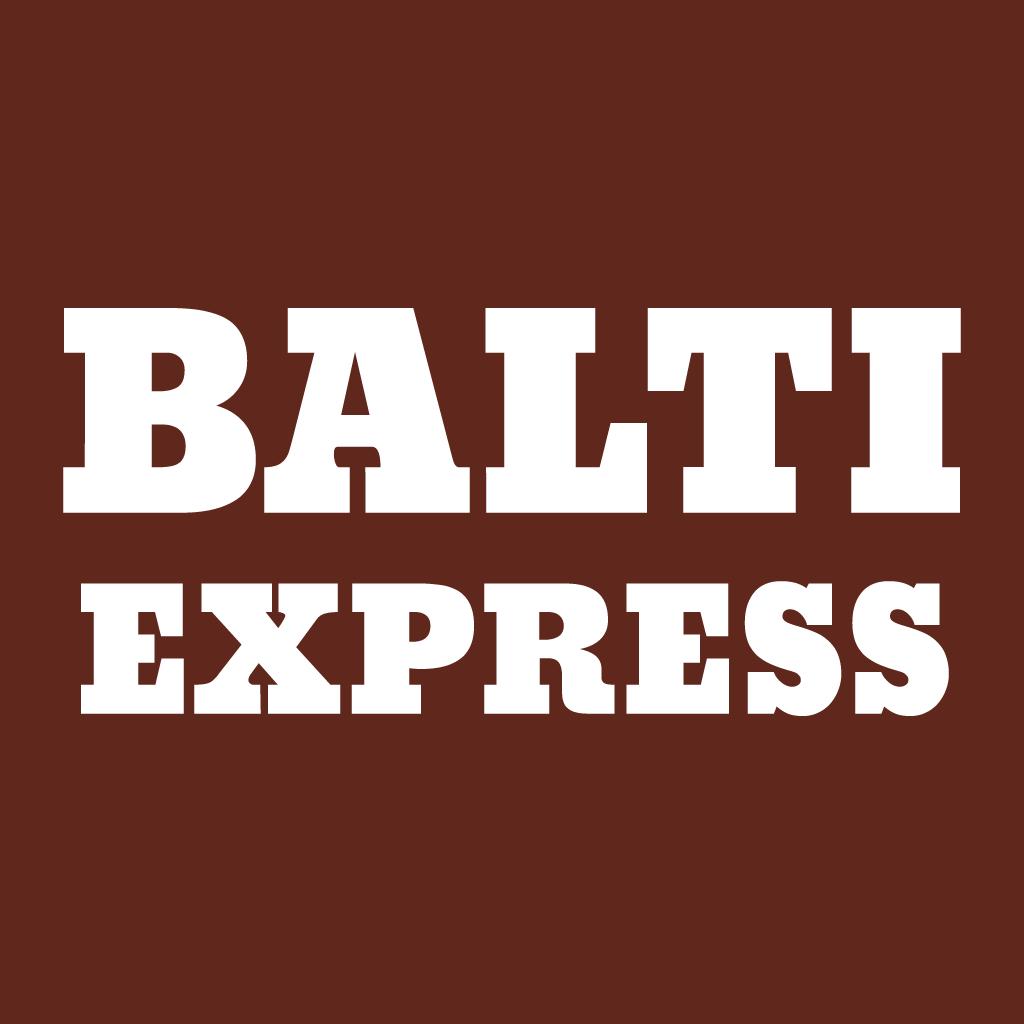 Balti Express Online Takeaway Menu Logo