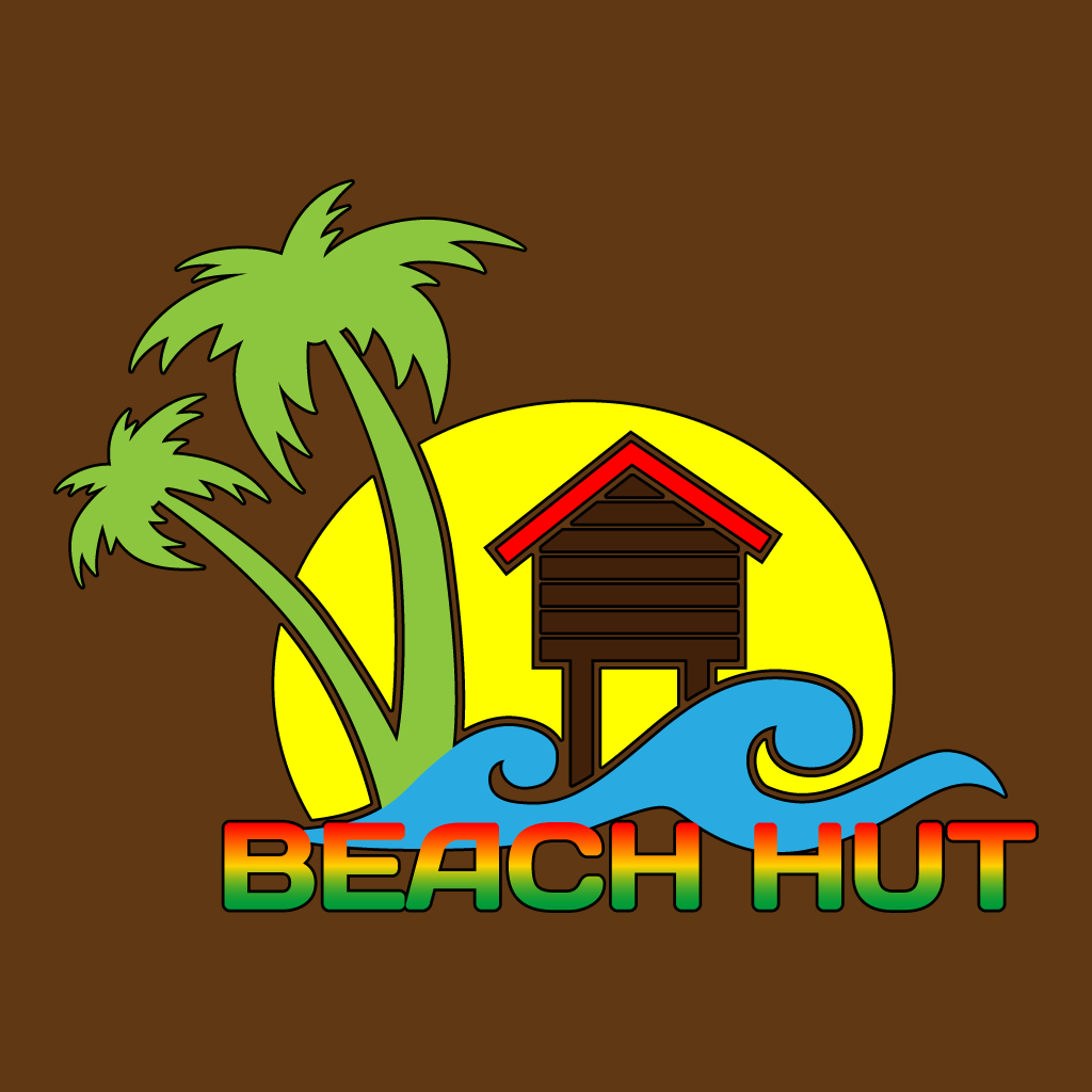 Beach Hut Caribbean Takeaway Takeaway Logo