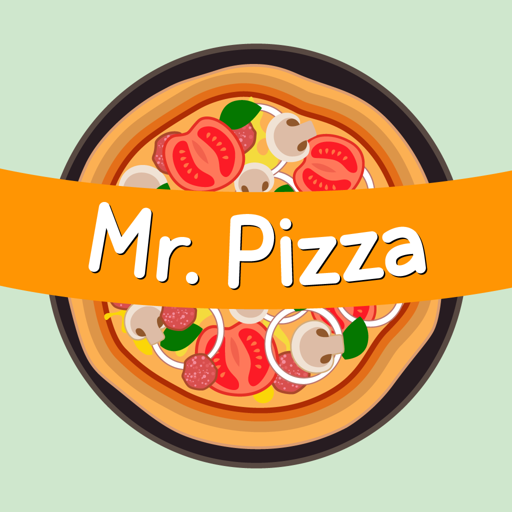 Mr Pizza Online Takeaway Menu Logo