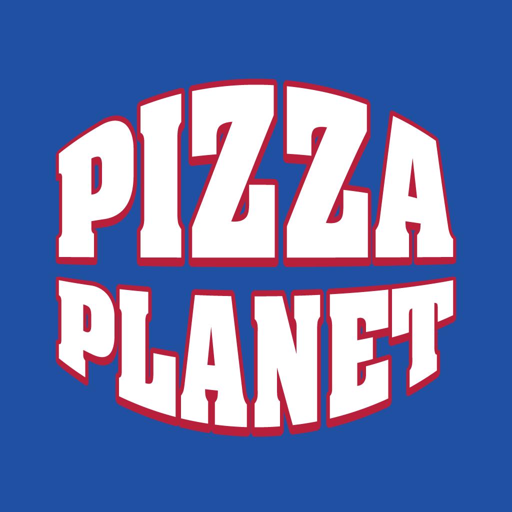 Pizza Planet Online Takeaway Menu Logo