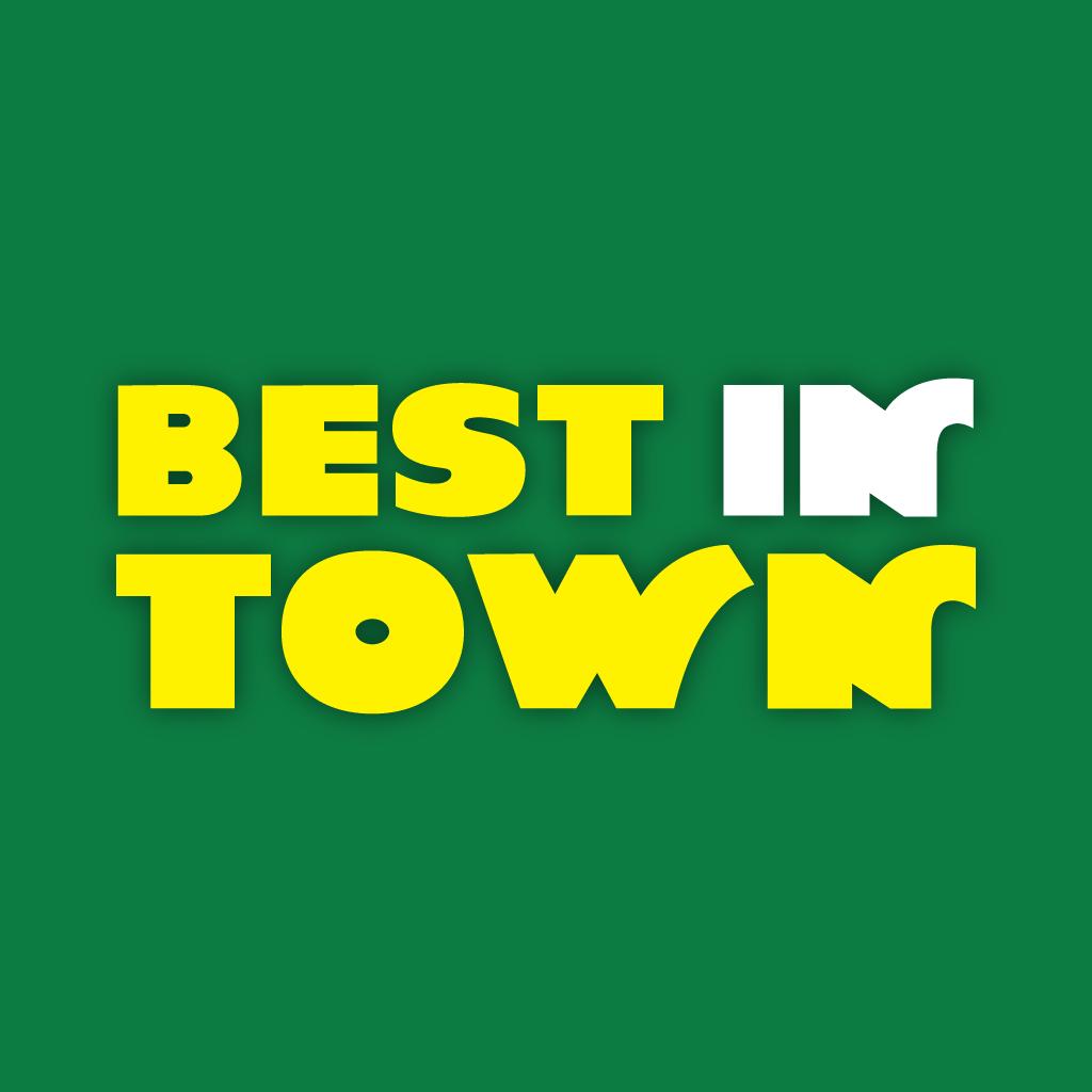 Best In Town Online Takeaway Menu Logo