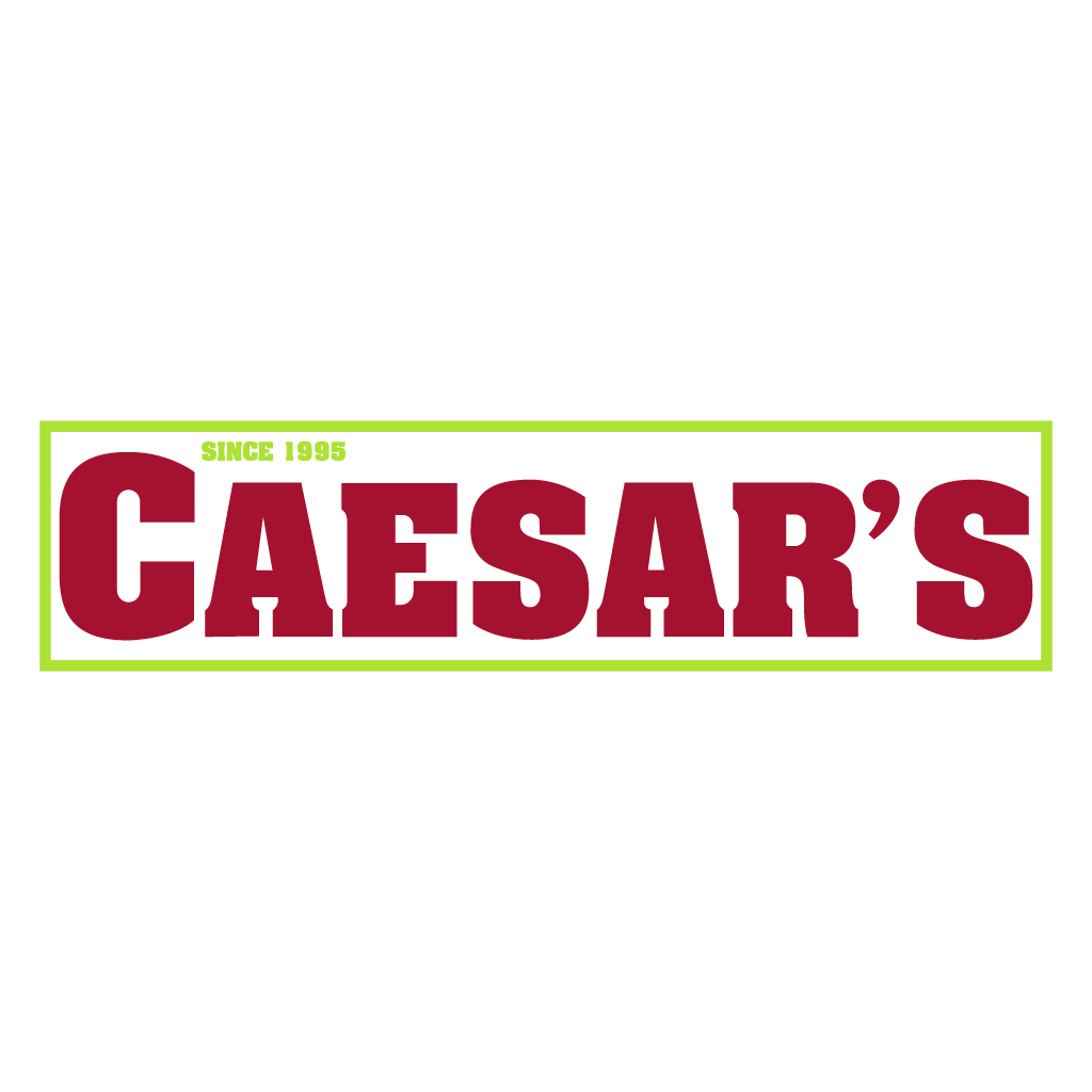 Caesars Pizza and Kebab Online Takeaway Menu Logo