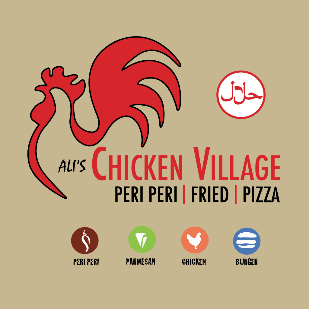 Ali's Chicken Village Online Takeaway Menu Logo