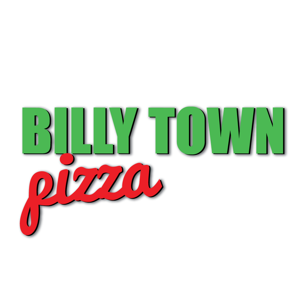Billy Town Pizza Online Takeaway Menu Logo