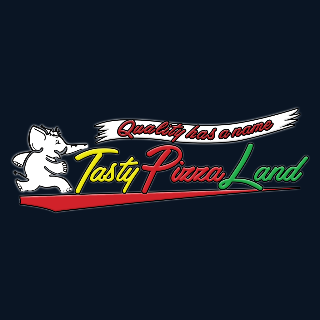 Tasty Pizza Land Online Takeaway Menu Logo