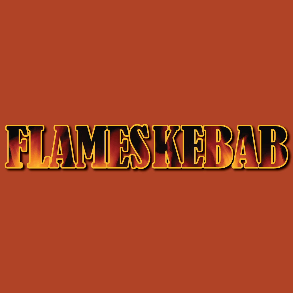 Flames Kebab Online Takeaway Menu Logo