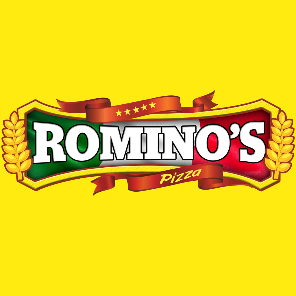 Rominos Pizza Online Takeaway Menu Logo