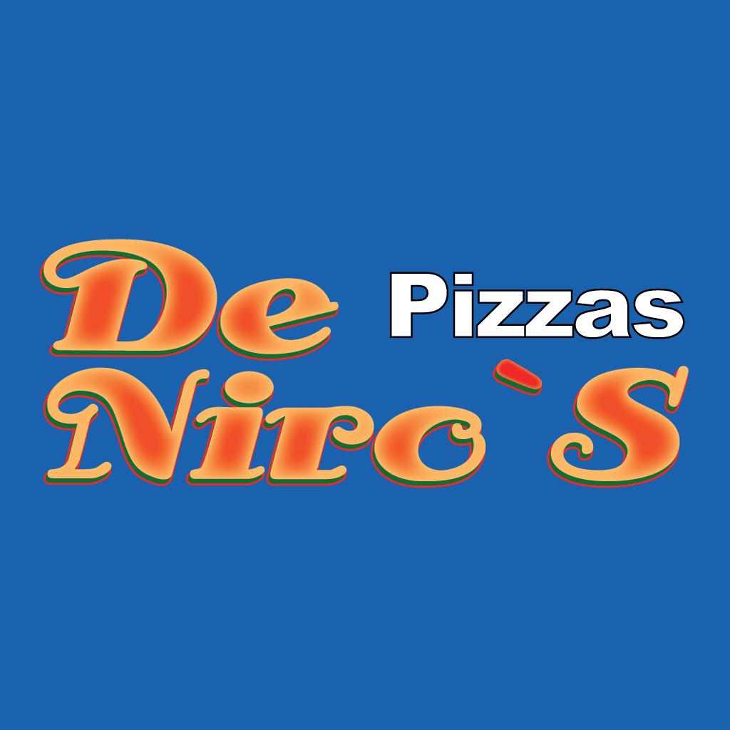 De Niros Pizzaland Online Takeaway Menu Logo