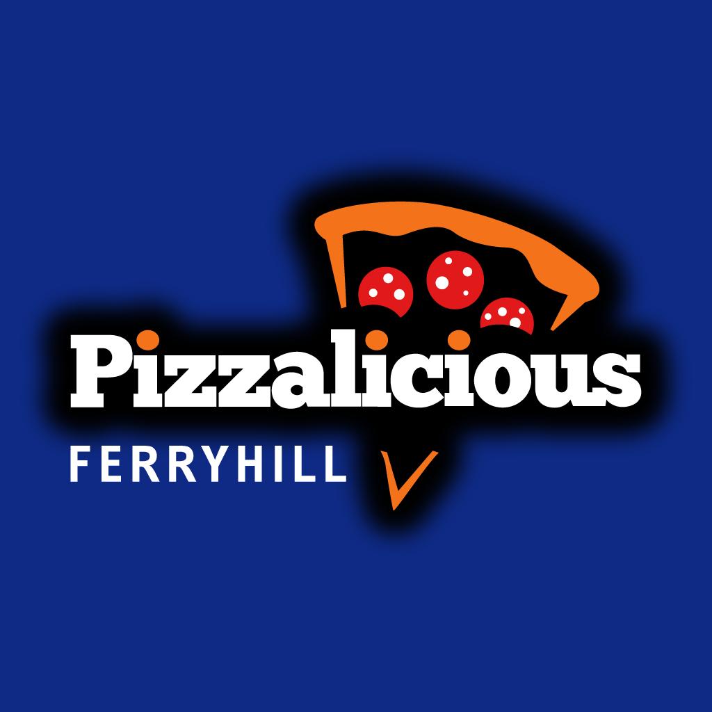 Pizzalicious Online Takeaway Menu Logo