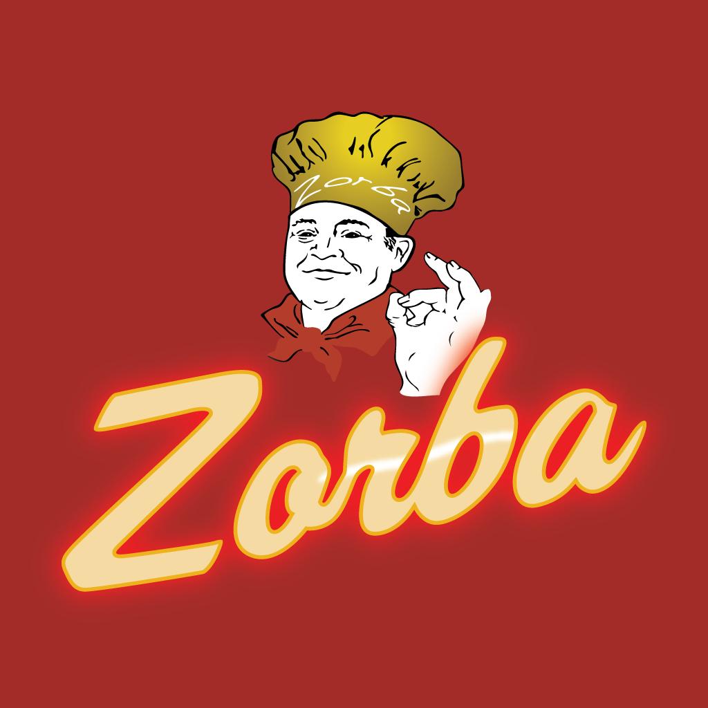 Zorba Online Takeaway Menu Logo