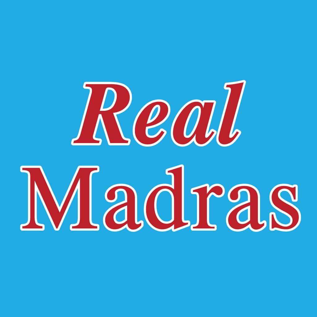 Real Madras Online Takeaway Menu Logo
