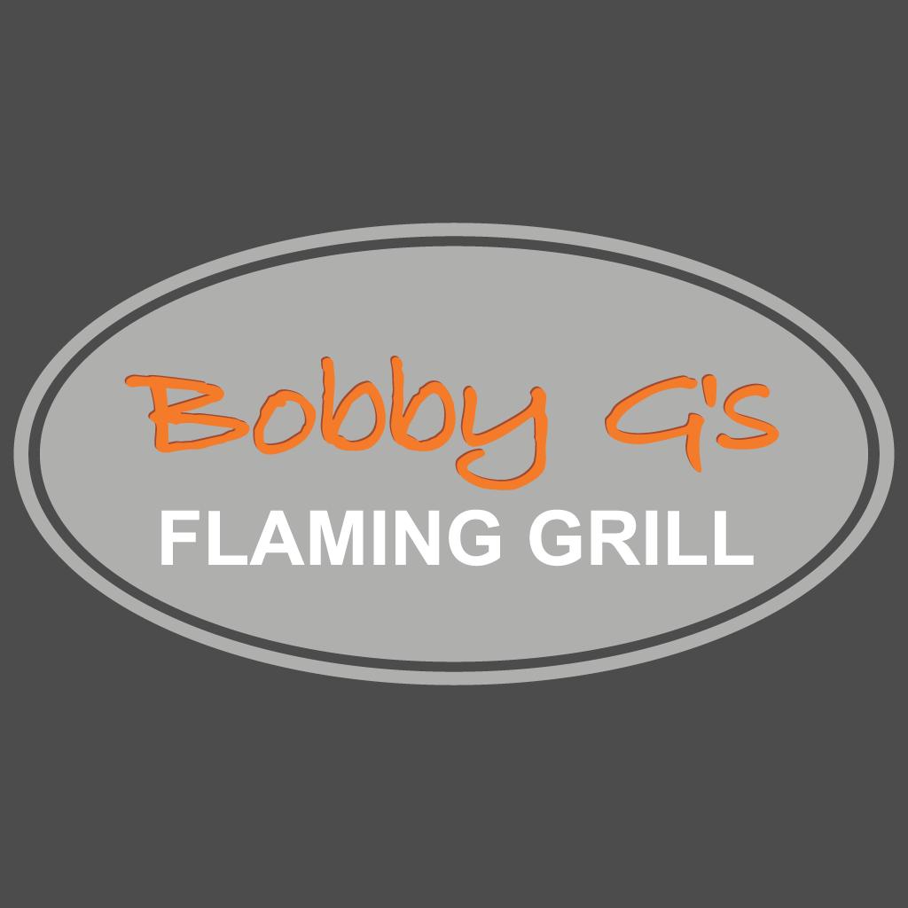 Bobby Gs Flaming Grill Online Takeaway Menu Logo