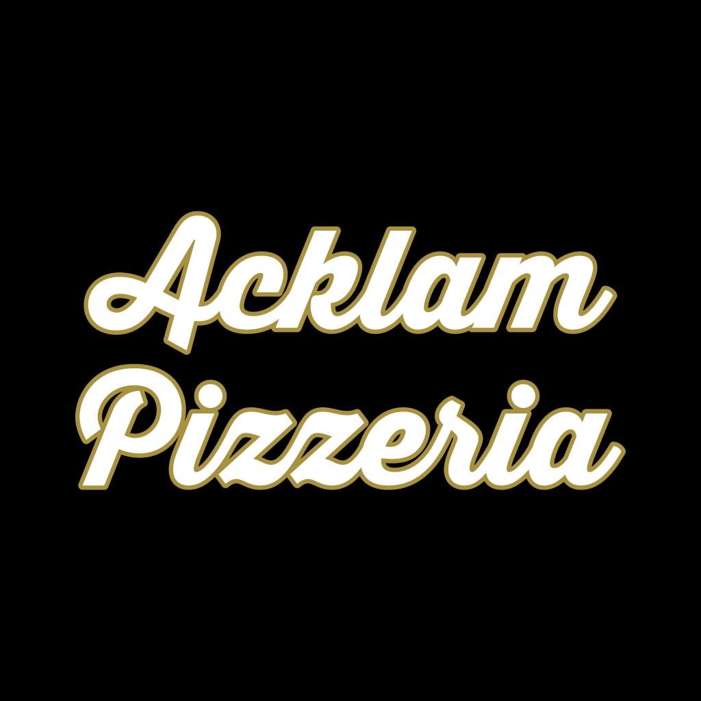 Acklam Pizzeria Online Takeaway Menu Logo