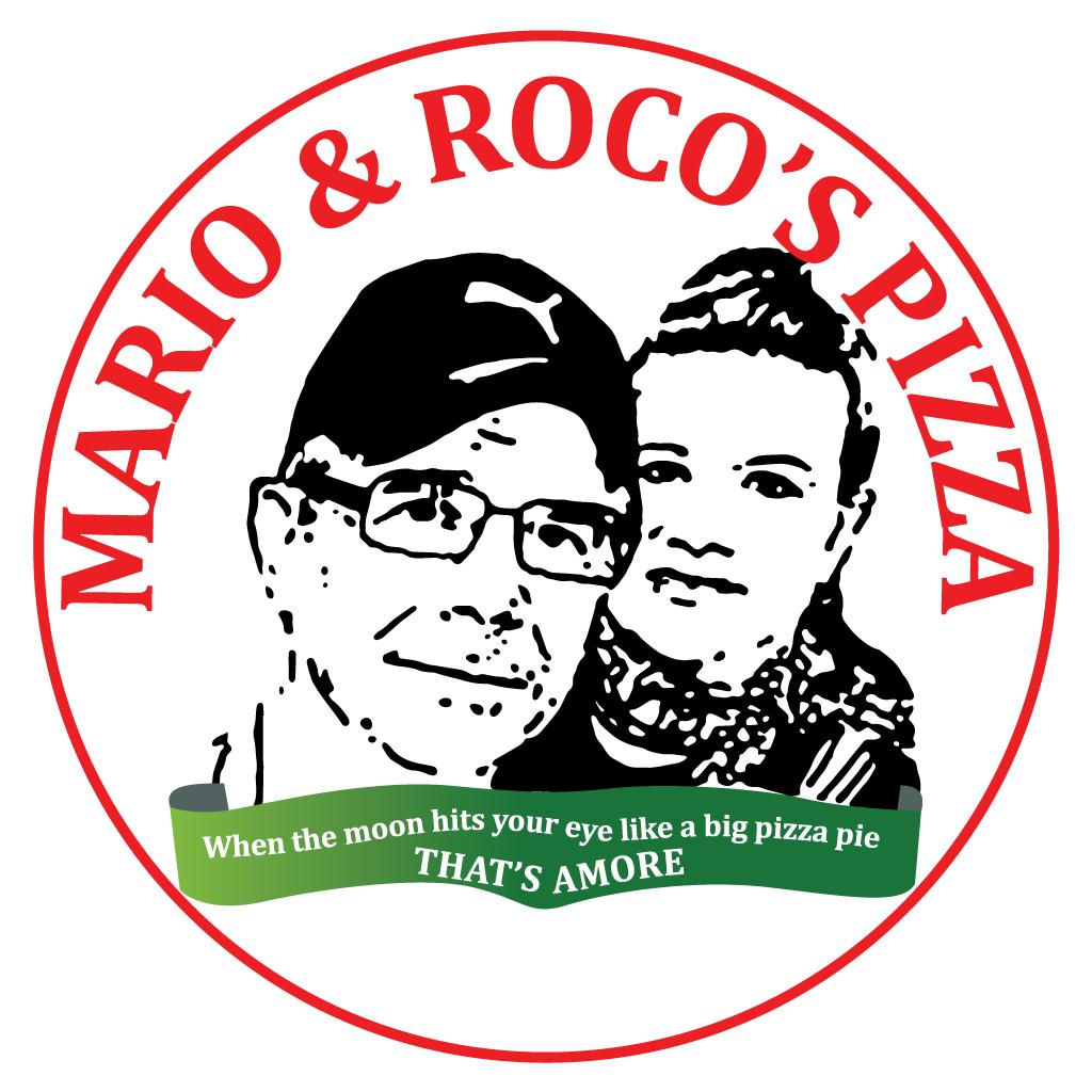 Mario & Rocos Pizza Online Takeaway Menu Logo