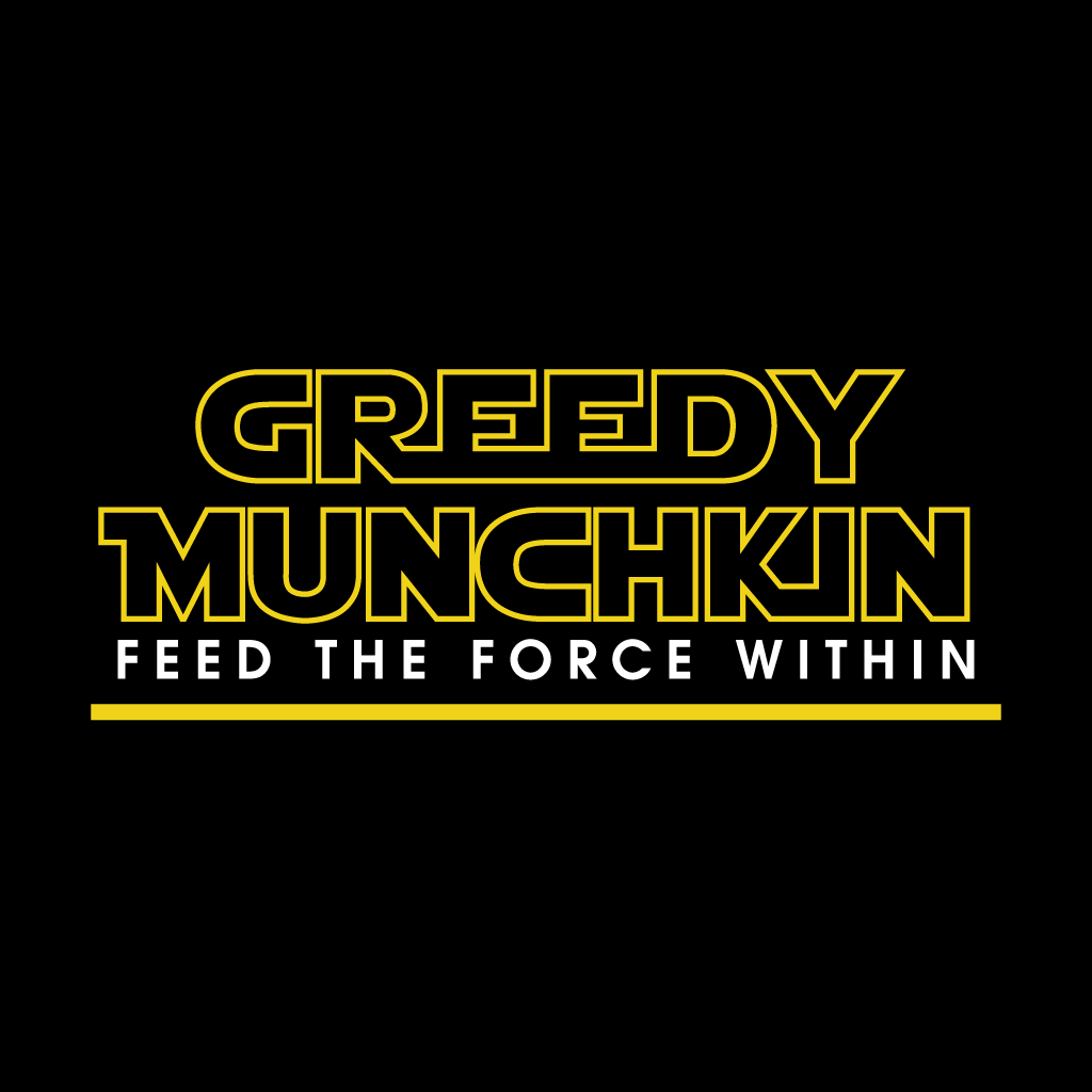 Greedy Munchkin Online Takeaway Menu Logo