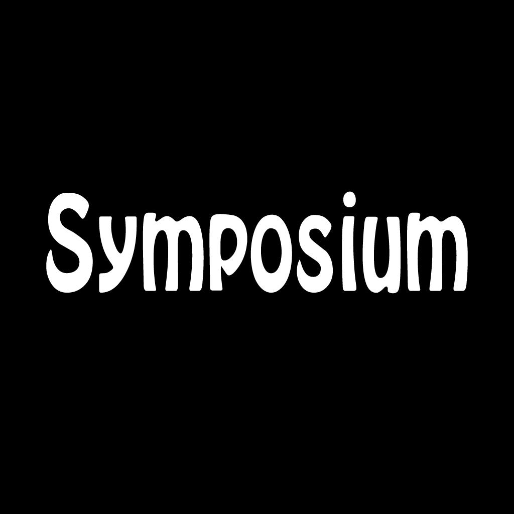 Symposium  Online Takeaway Menu Logo