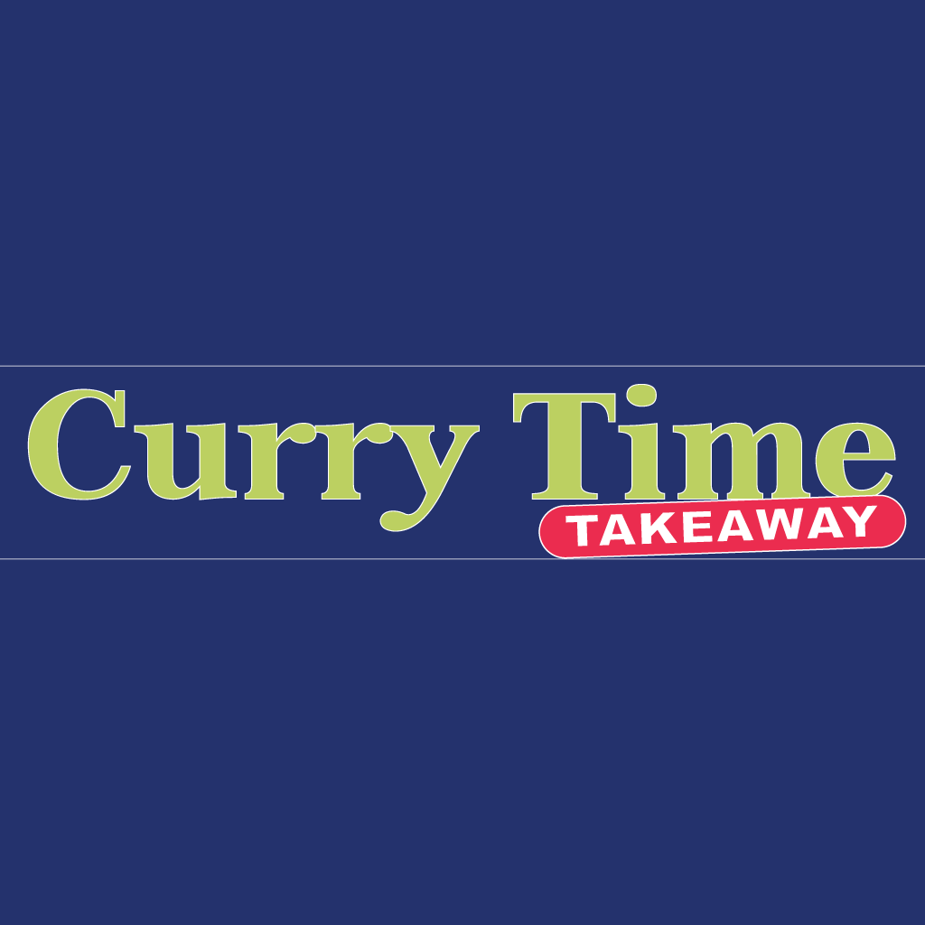 Curry Time Online Takeaway Menu Logo