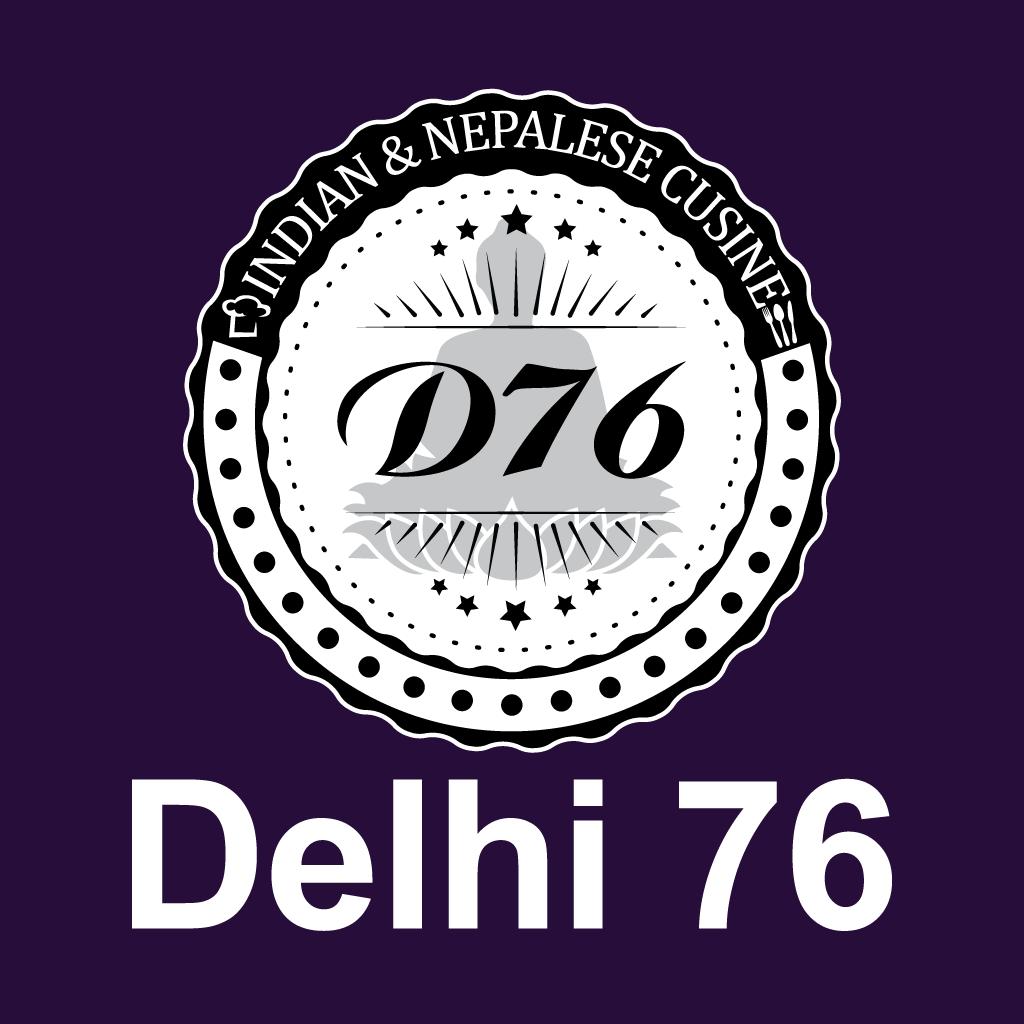 Delhi 76  Online Takeaway Menu Logo