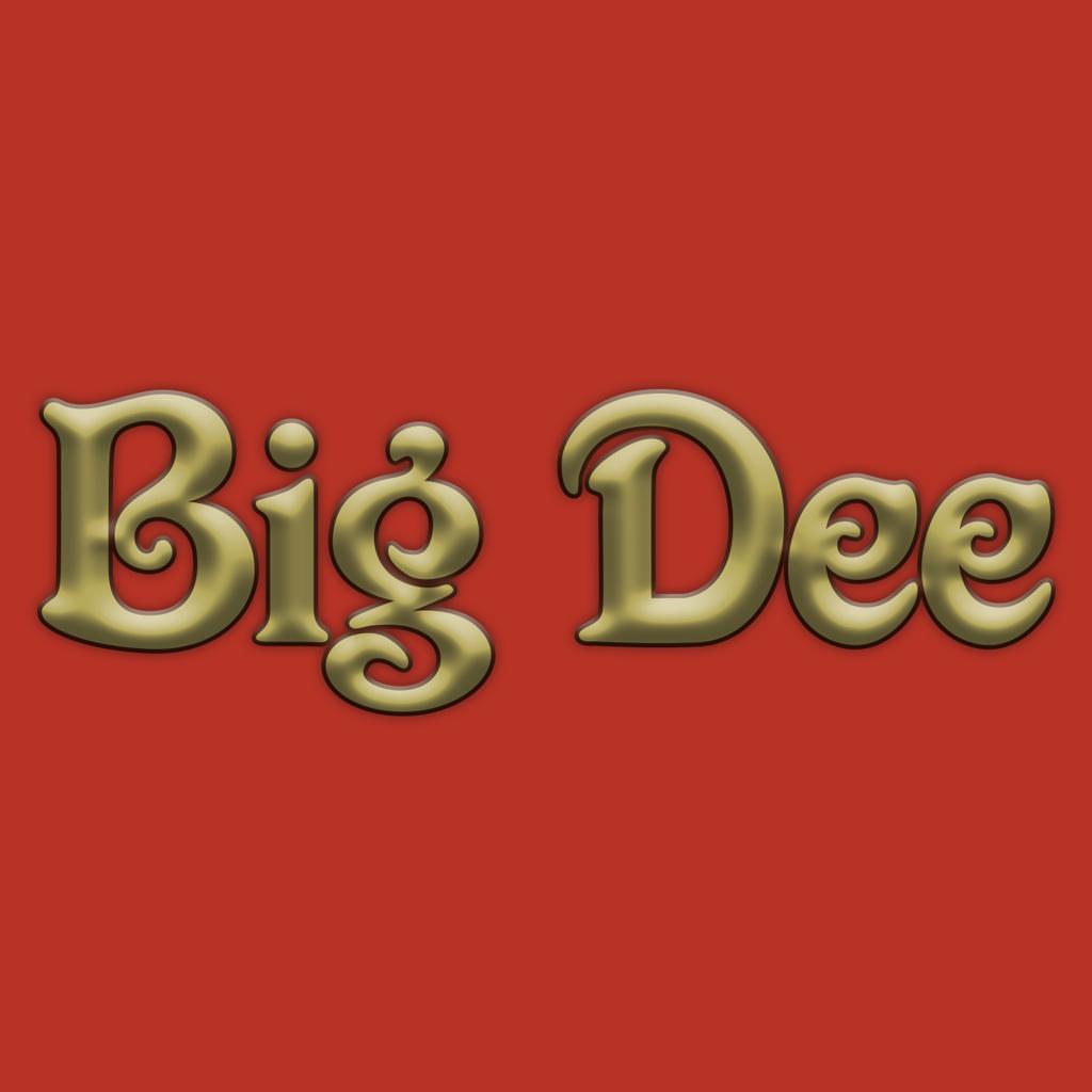 Big Dee Online Takeaway Menu Logo