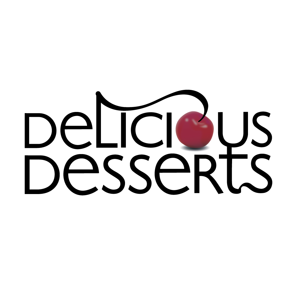 Delicious Desserts Online Takeaway Menu Logo