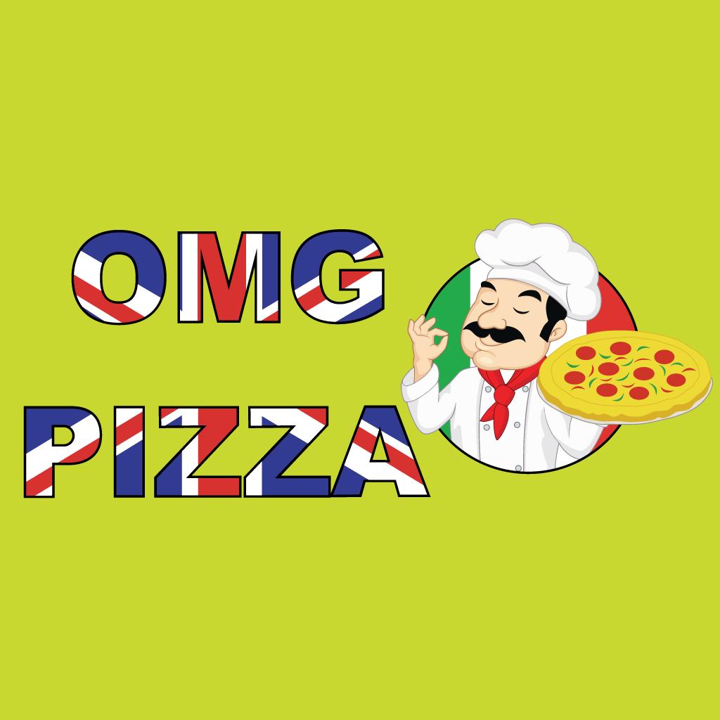 OMG Pizza Online Takeaway Menu Logo