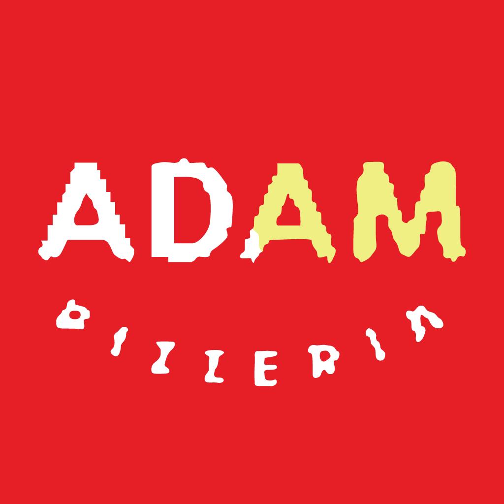 Adams Pizzeria Online Takeaway Menu Logo