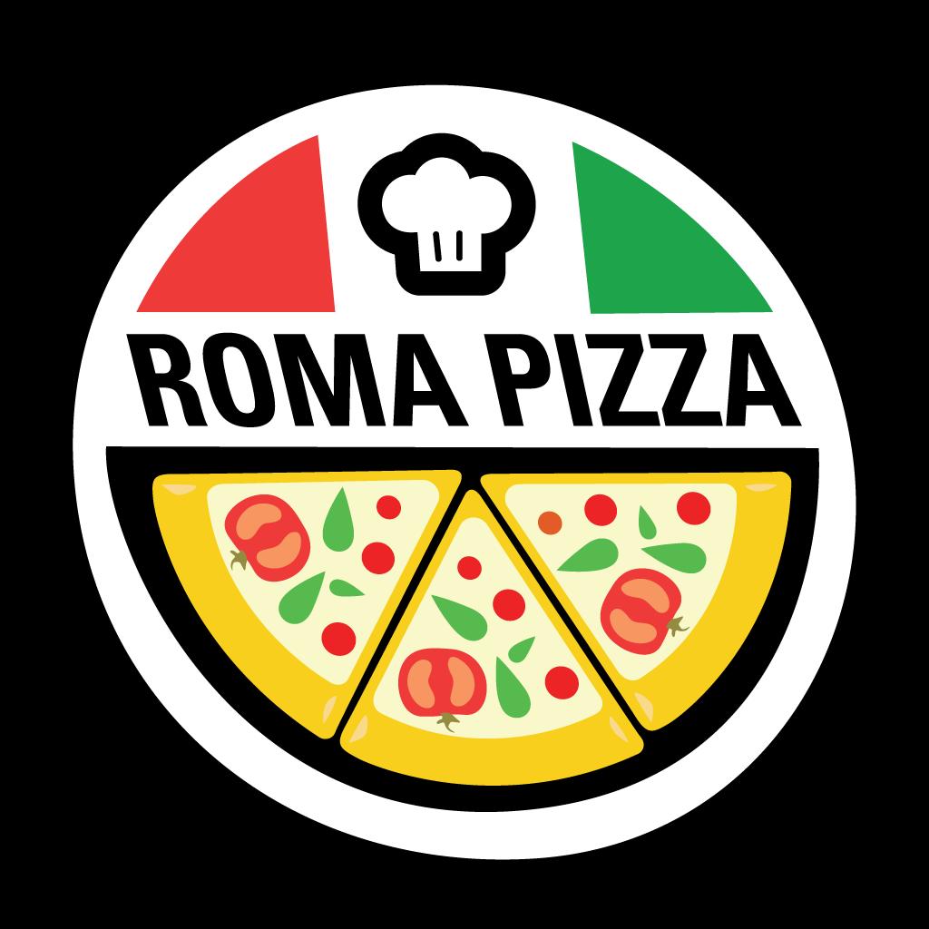 Roma Pizza Online Takeaway Menu Logo