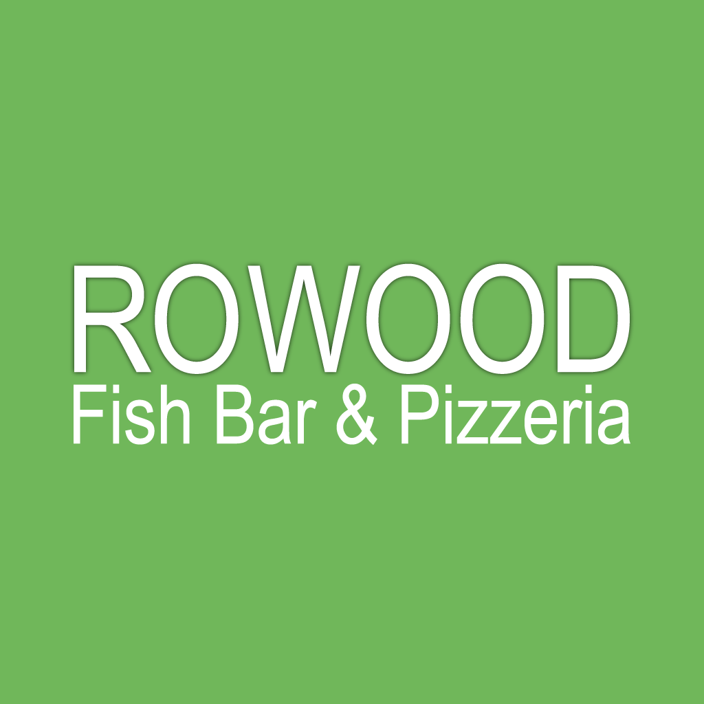 Rowood Fish Bar and Pizzeria Online Takeaway Menu Logo