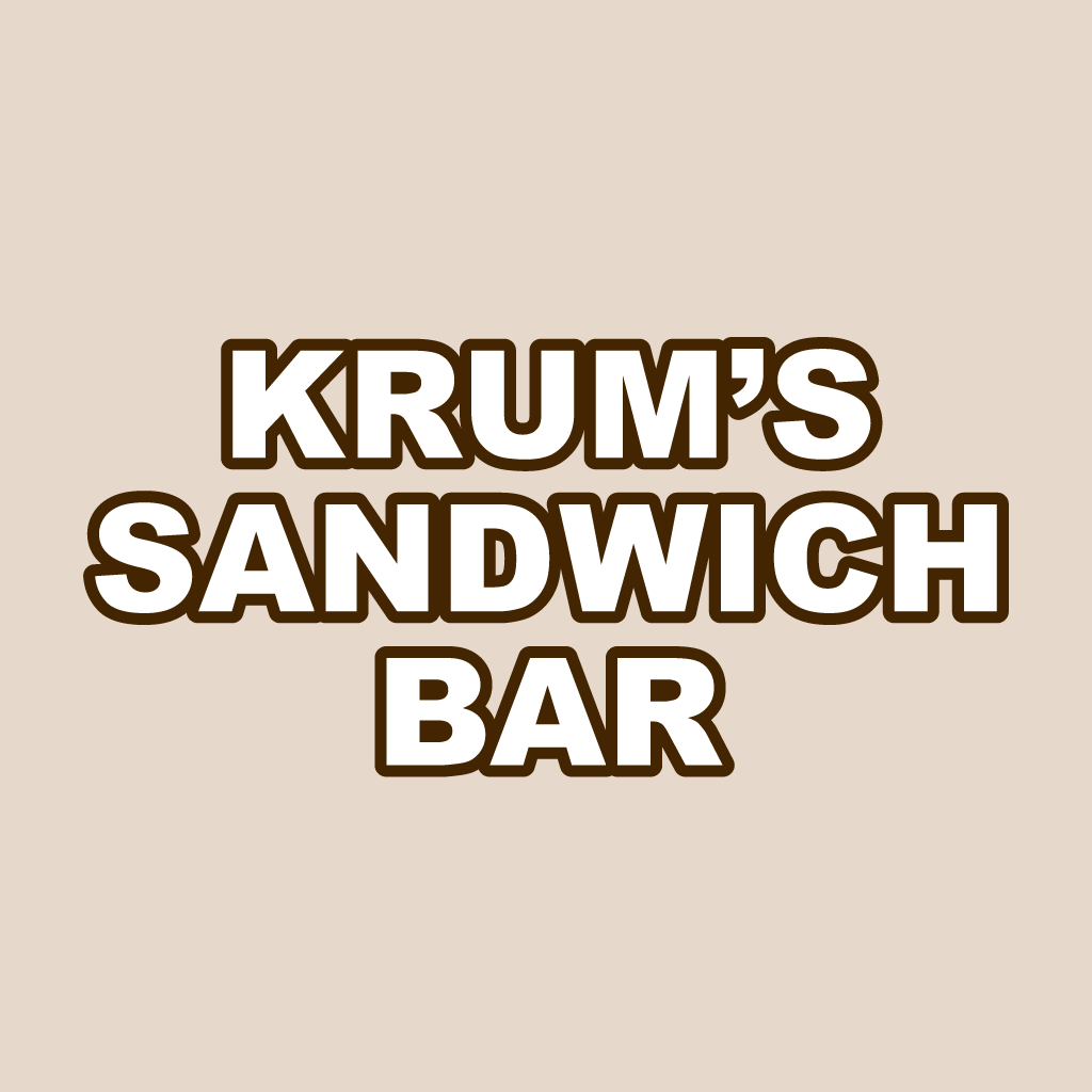 Krums Sandwich Bar Online Takeaway Menu Logo