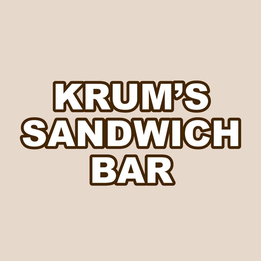 Krums Sandwich Bar Online Takeaway Menu Logo